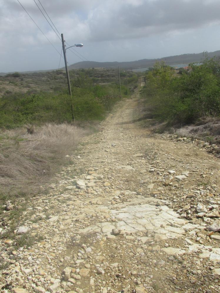 Roads in Antigua