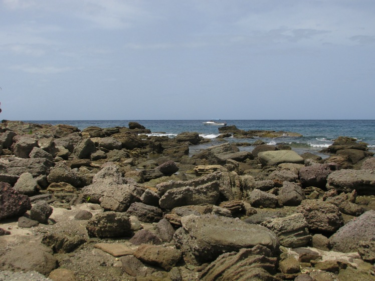 Rock pools Galleon Beach