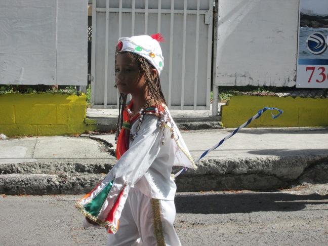 Childrens parade, Antigua carnival