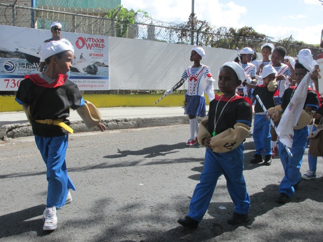 Childrens parade, Antigua carnival