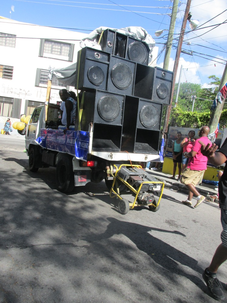 Sounds systems at Antigua carnival