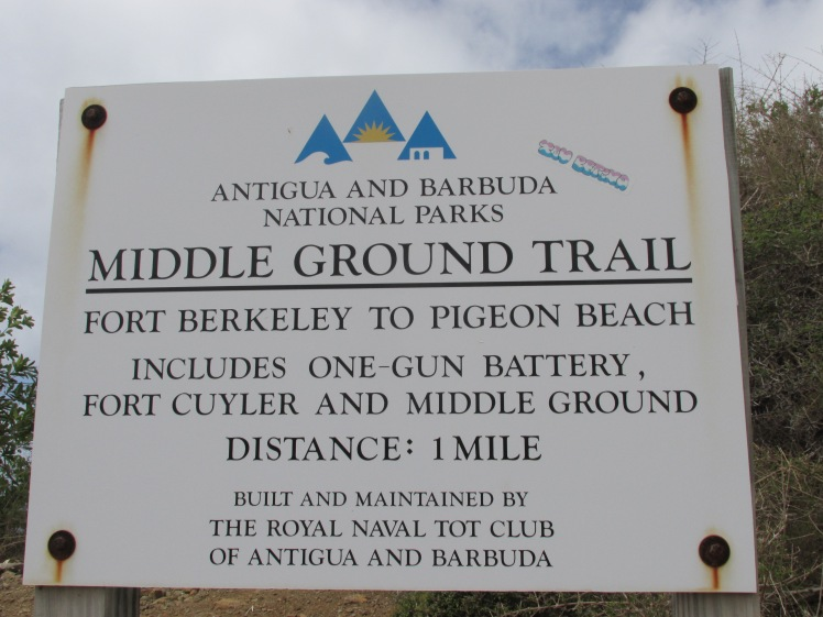 walking trail sign
