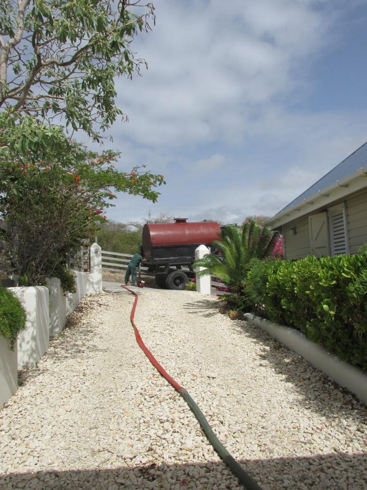 Water truck Antigua