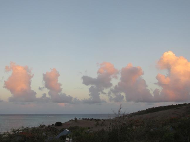 Strange clouds pre-Danny