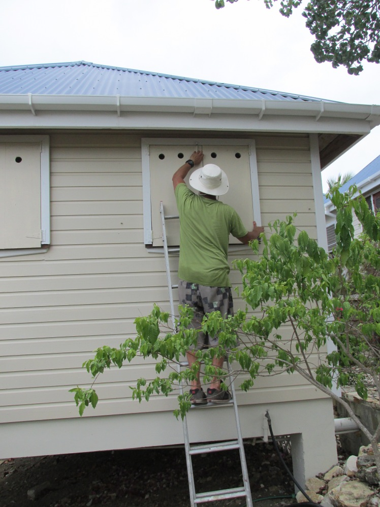 Hurricane preparations, Antigua