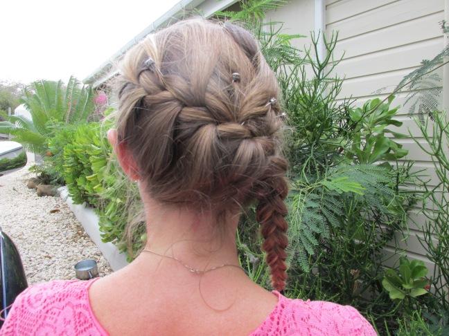 Side French braid