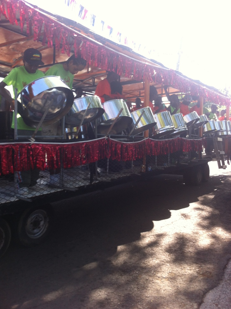 Steel band, carnival Antigua