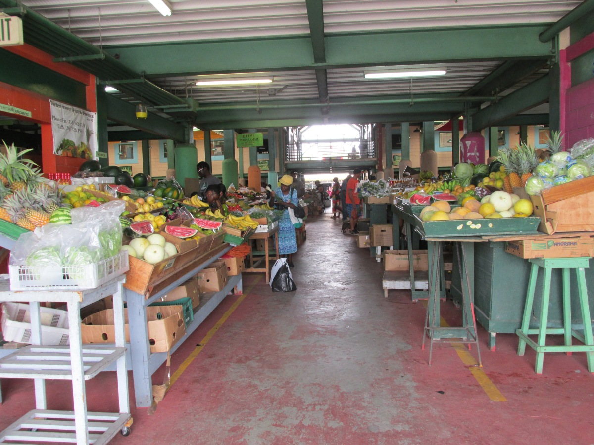 Caribbean Saturday Market in St John's, Antigua and a recipe for Turmeric & Ginger Tea