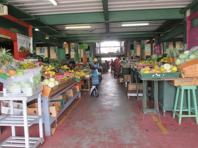 Saturday market in St. John's, Antigua