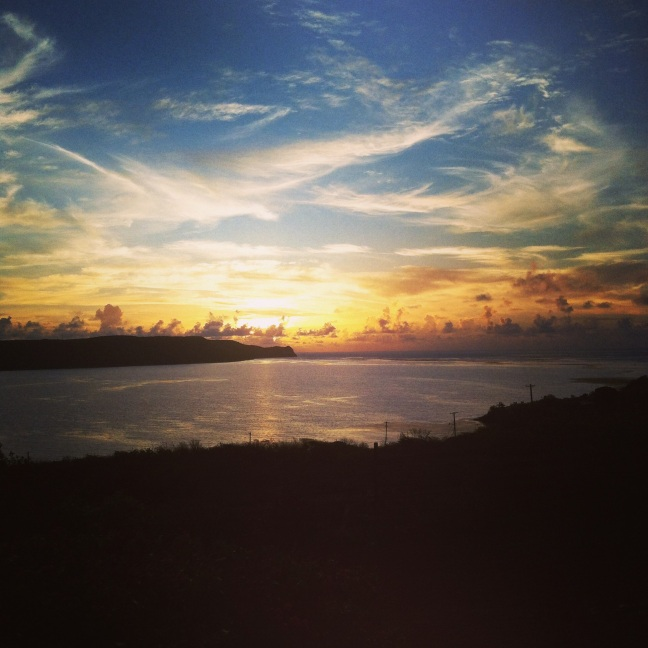 Sunrise in Antigua