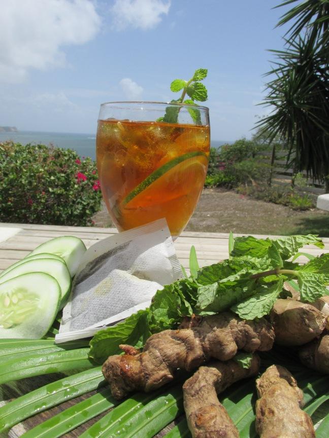 Spiced iced tea recipe
