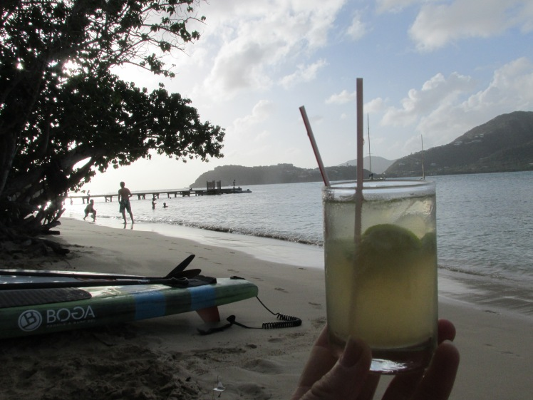 The Ti'Punch from Catherine's Café Plage, Antigua