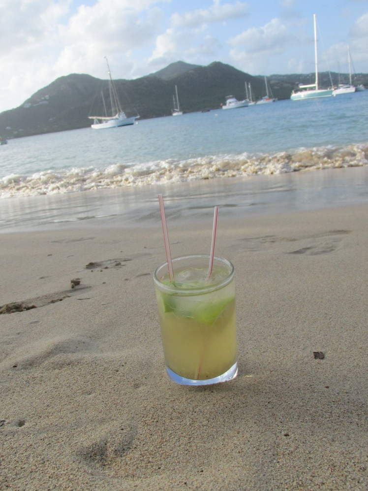 Ti'Punch in Antigua at Pigeon Beach