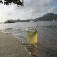 Apèro à la plage - sharing  Ti'Punch with Friends. How to make a traditional French Caribbean Rum Cocktail that packs a punch!