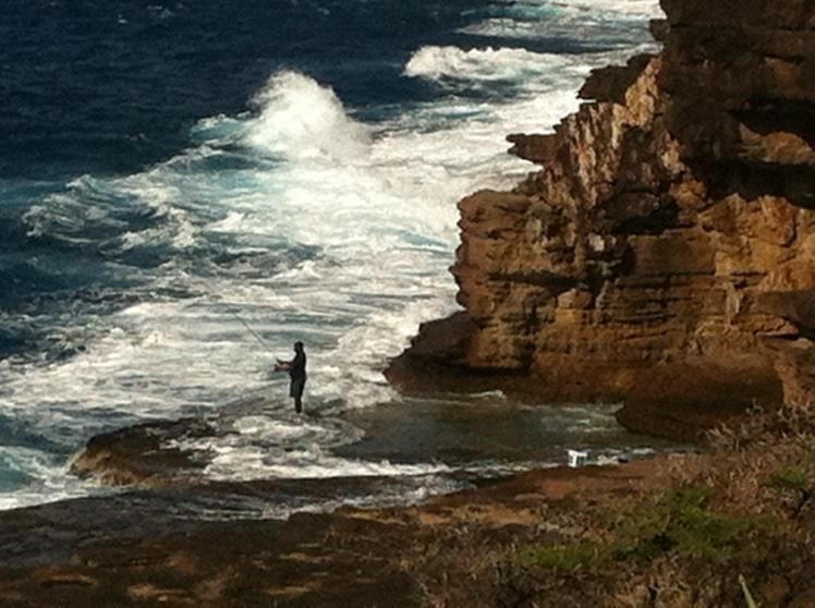 Fisherman, Pillars of Hercules, Antigua WI