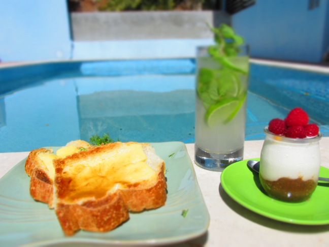 Cheese on Toast, tropical style