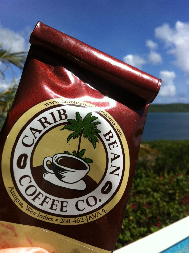 Carib Bean coffee Antigua