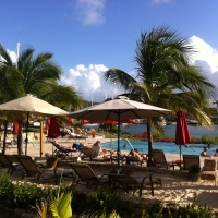 Boom Restaurant in Antigua, West Indies