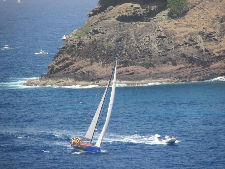 Antigua Sailing Week and the stunning Antiguan coastline