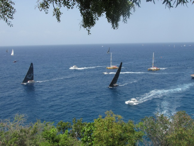 Racing in earnest at Antigua Sailing Week