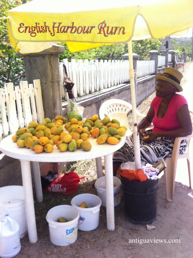 Mango stall