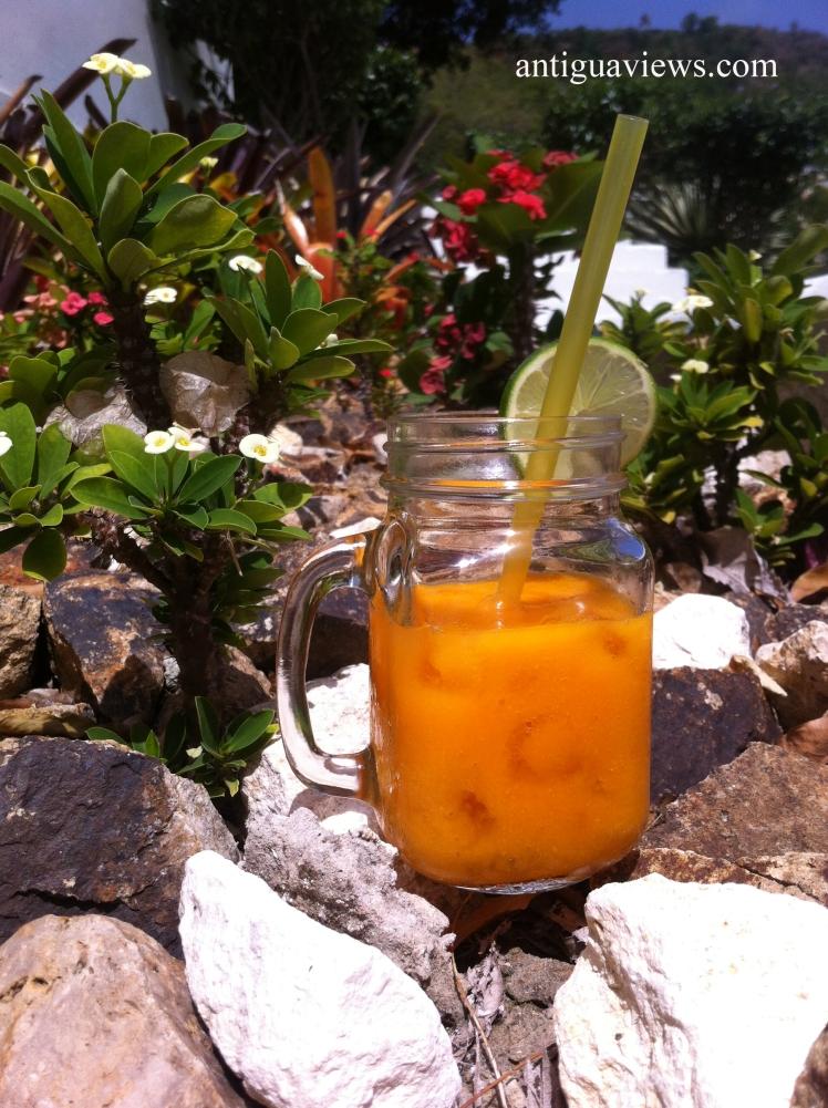 Mango & Papaya Smoothie