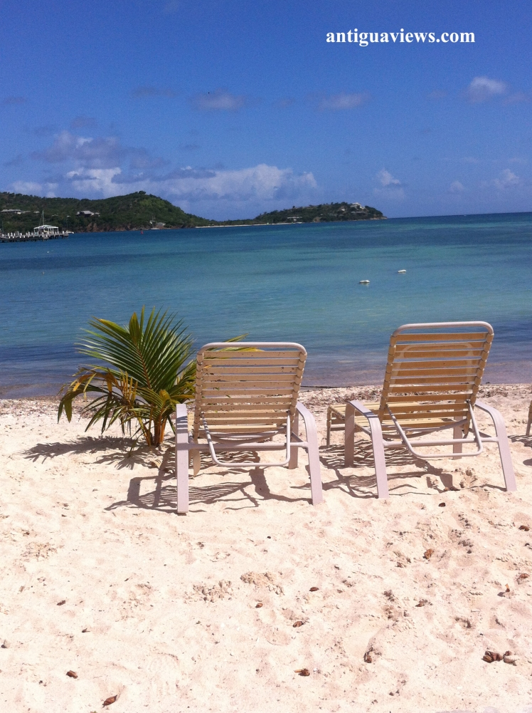 Daydreaming in Antigua at Papas By The Sea