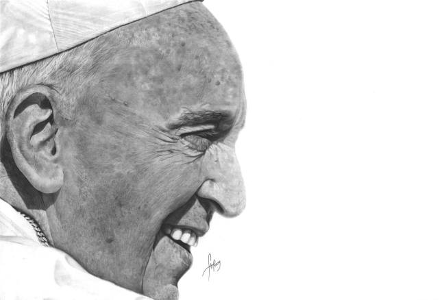 """His Holiness Pope Francis"" by Anson J. Henry"