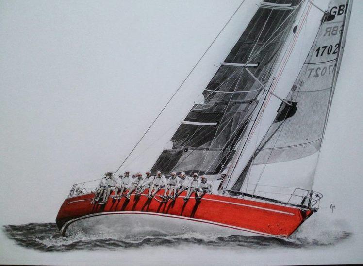 """""""Scarlet Oyster"""" by Anson J. Henry"""
