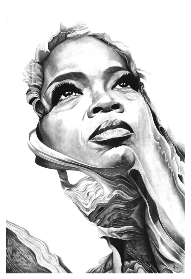 """Phenomenal Emergence"" Oprah Winfrey by Anson J. Henry"