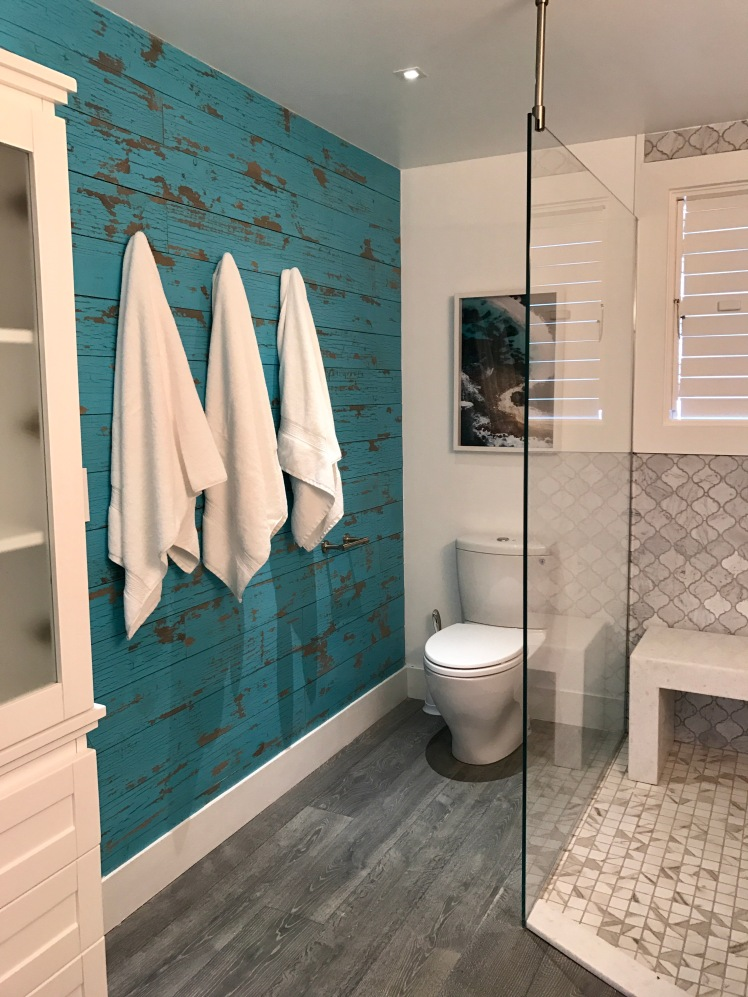 Bathroom styled and designed by Charmaine B. Werth