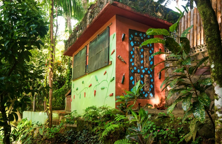 The colours and patterns of Cocoa Cottages
