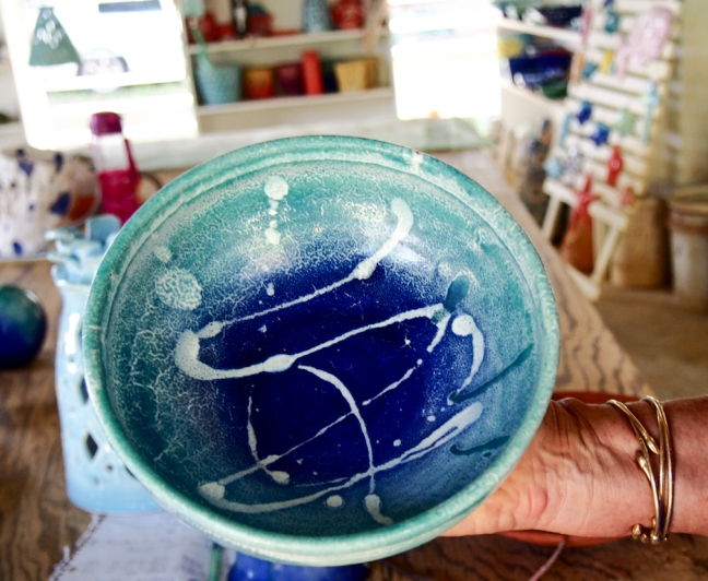 Pottery by Sarah Fuller, Antigua