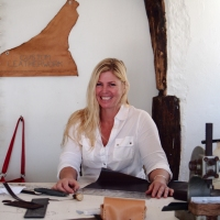 INTERVIEW - Annalea Mills, her custom leatherwork and life on a yacht